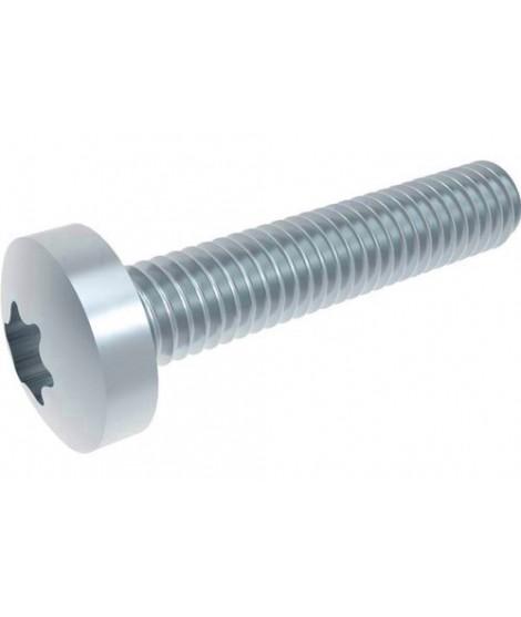 Linsenschrauben mit Innensechsrund ISO 14583 (~DIN 7985) Stahl 4.8 verzinkt
