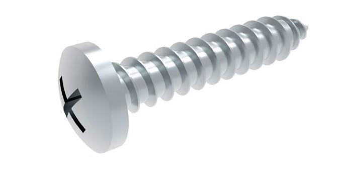 SC7981 40 St/ück - Edelstahl A2 V2A 3,9x13 - Blechschrauben mit Linsenkopf Innensechsrund Antrieb TX ISO 14585 - Form C - DIN 7981 mit Spitze -