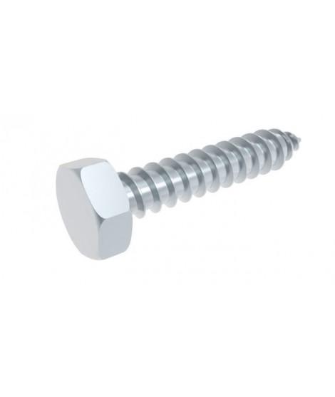 Blechschrauben Sechskantkopf und Spitze DIN 7976 (ähnl. ISO 1479) Stahl verzinkt