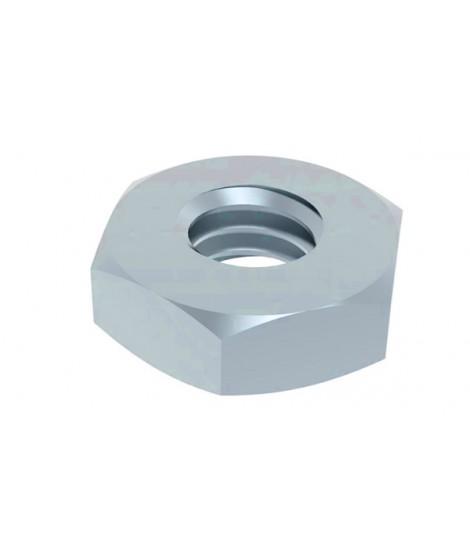 Sechskantmuttern DIN 439 / ISO 4035 Stahl verzinkt, niedrige Form