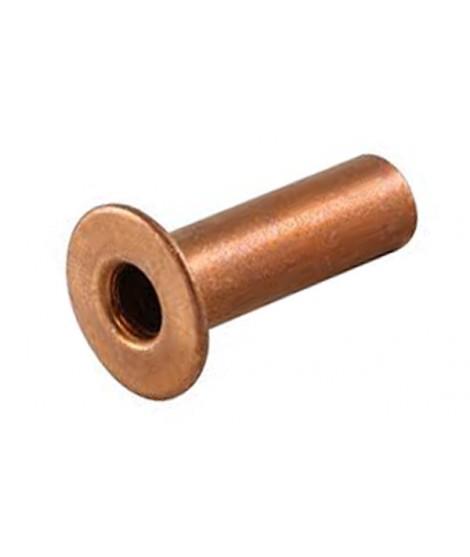 DIN 7338 Hohlniete Kupfer Form C