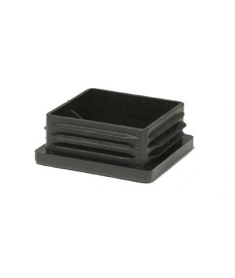 Einsteckkappe für Vierkantrohr schwarz